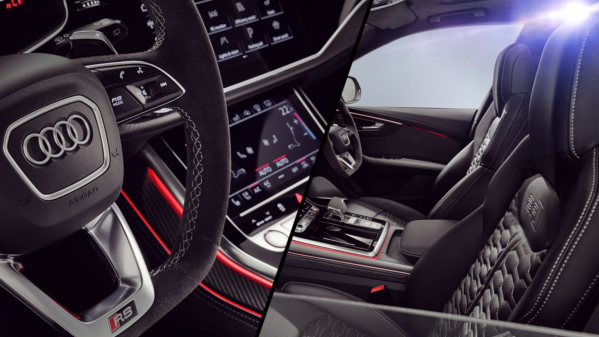 Audi RS Q8 2020 Wallpaper 1920x1080