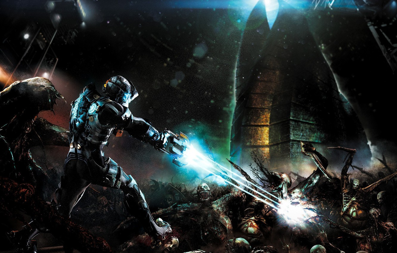 Wallpaper space dead space evil isaac clarke images for 1332x850
