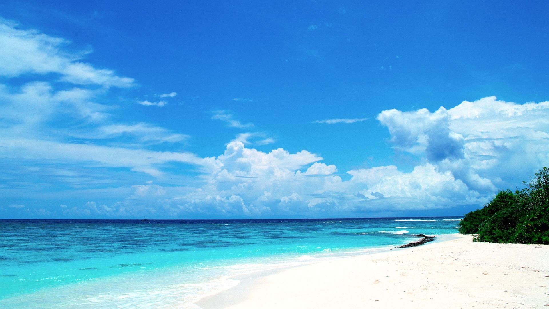 Maldives beach summer wallpaper   1920x1080 wallpaper download 1920x1080