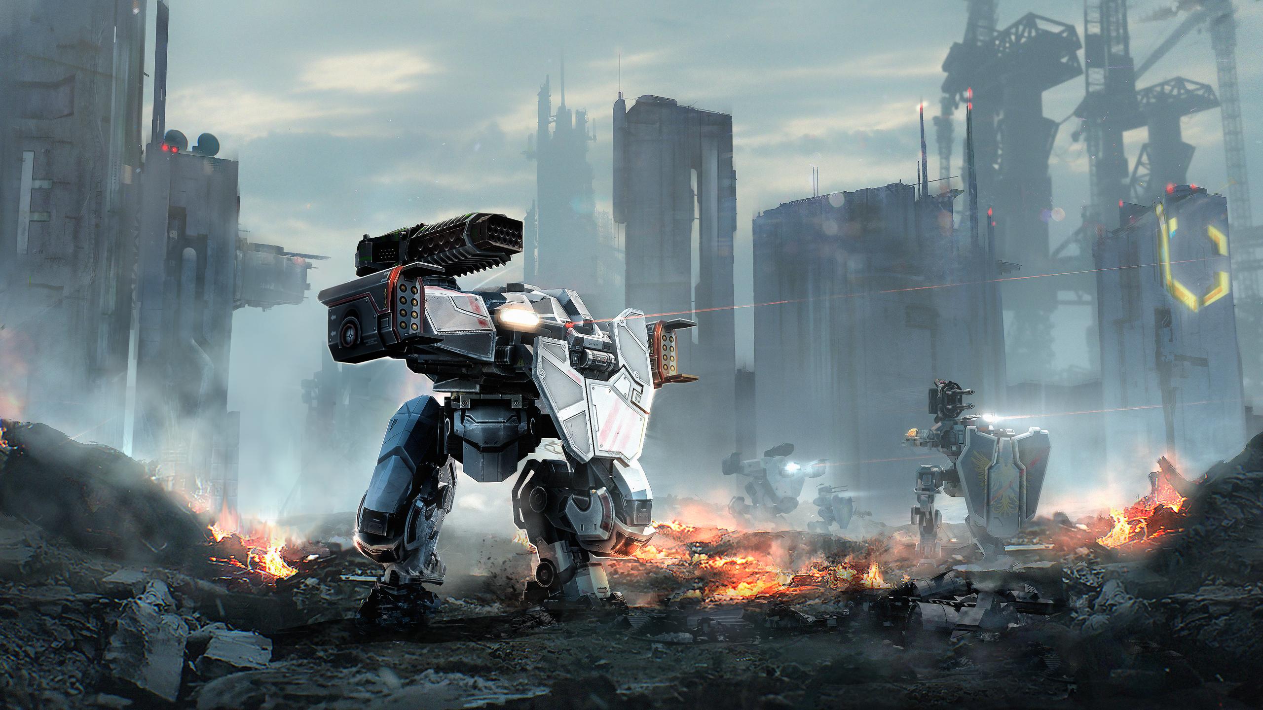 War Robots Wallpapers   Top War Robots Backgrounds 2560x1440