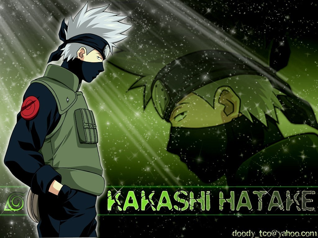 Kakashi Kakashi sensei 1024x768