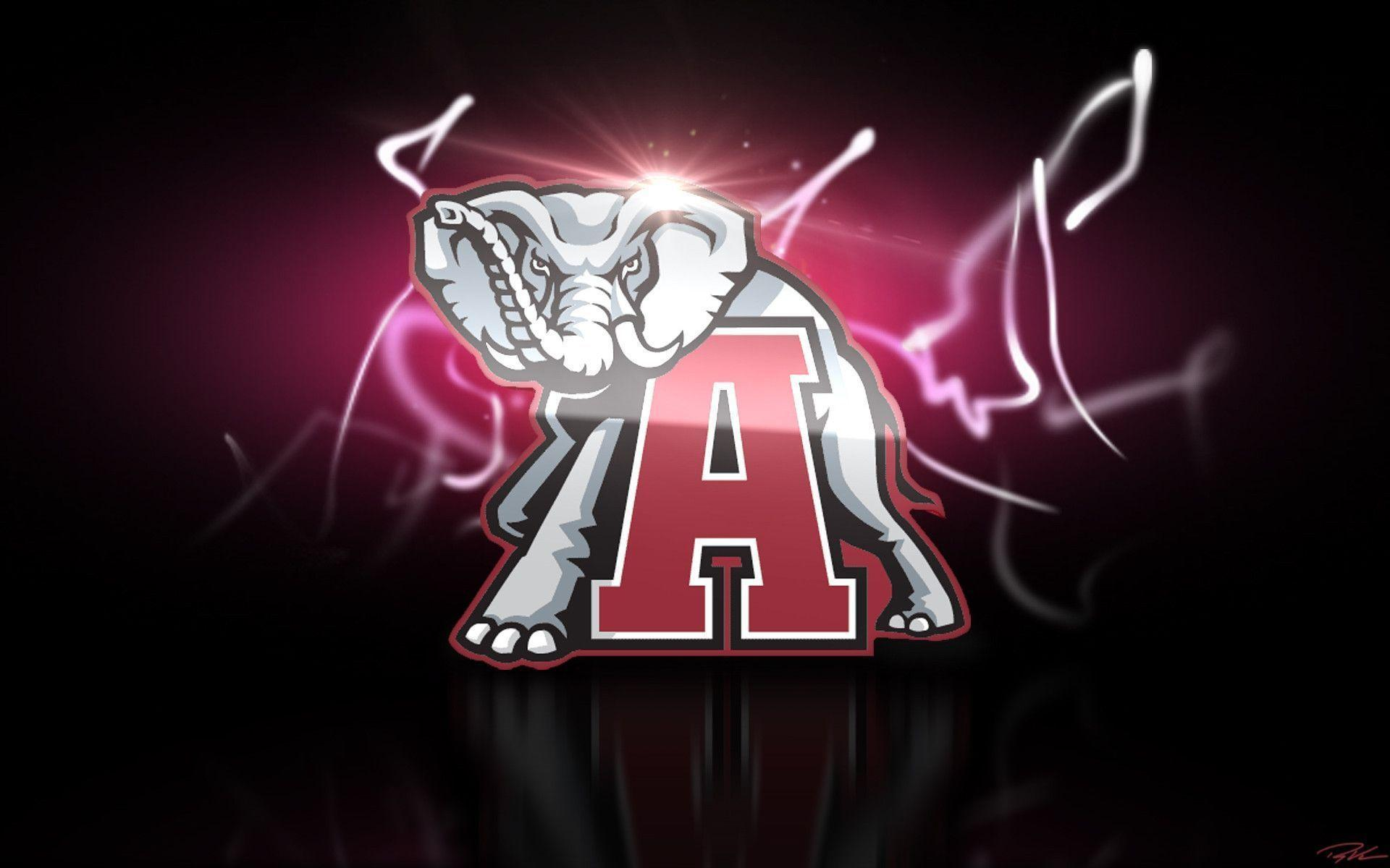 Alabama Crimson Tide Logo Wallpapers 1920x1200