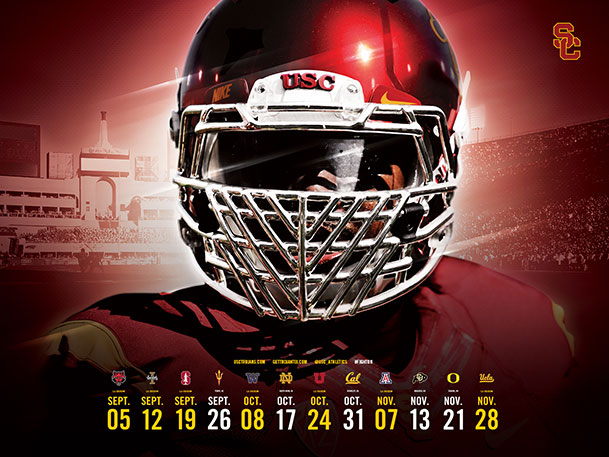 University of Southern California Official Athletic Site   Football 609x457