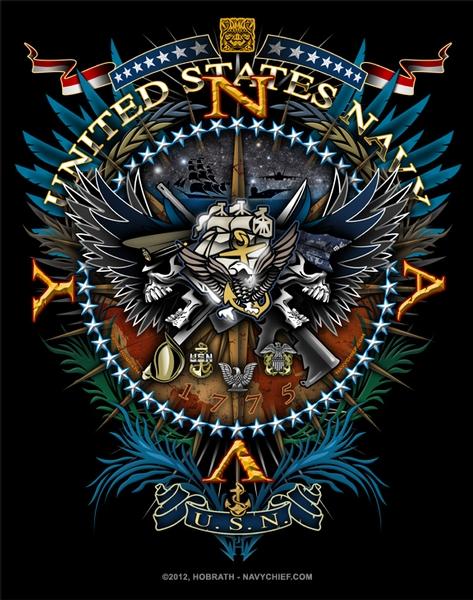 Navy Chief Logo Red star crush logo 473x600
