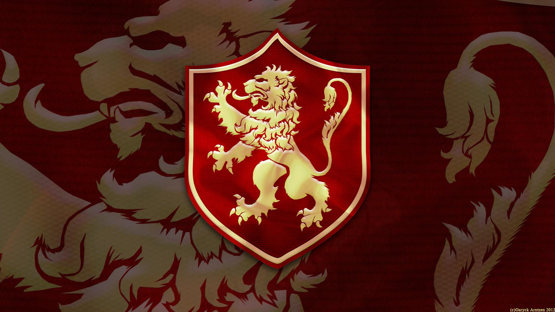 House Lannister Sigil Wallpaper Wallpapersafari