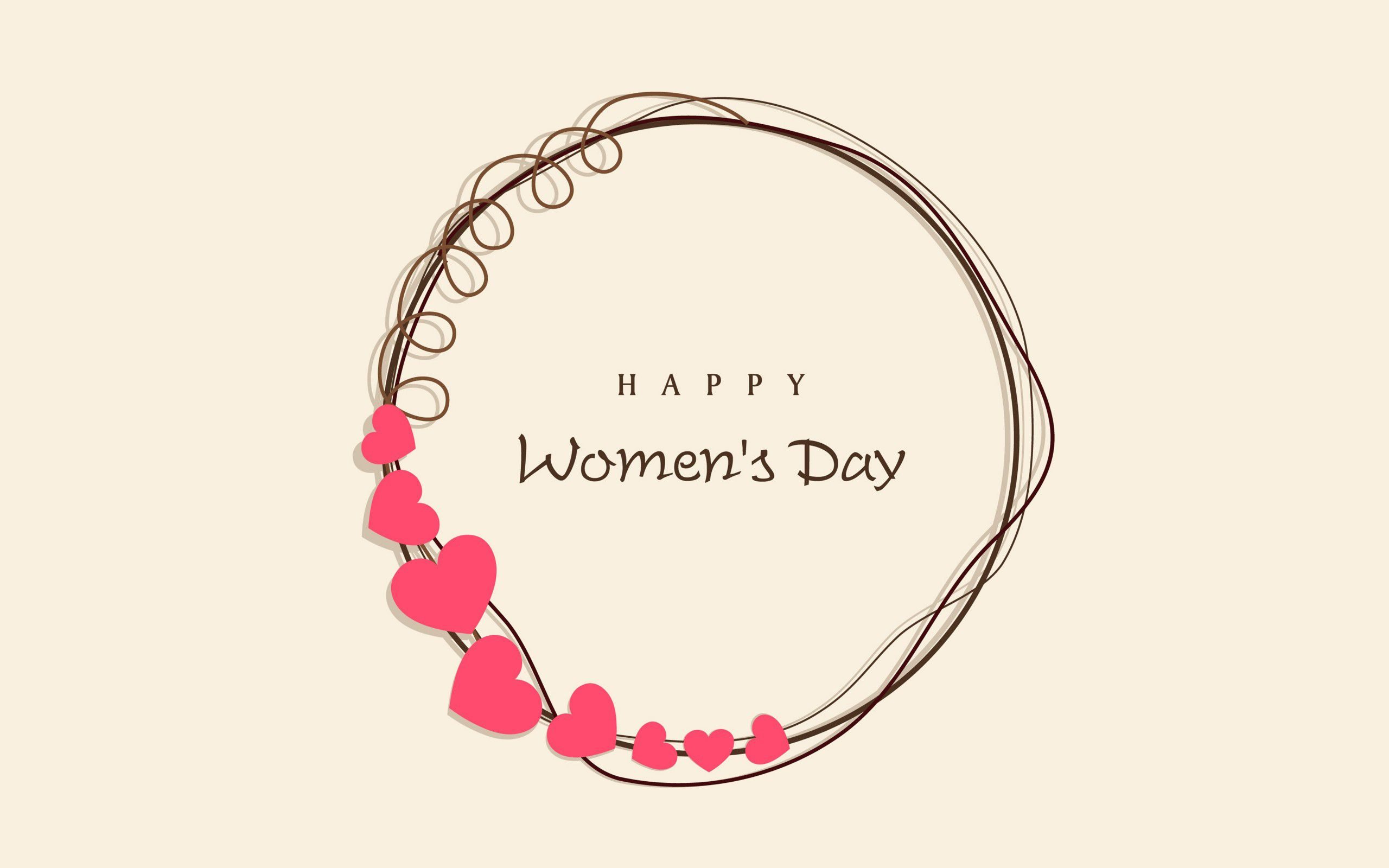 Happy Womens Day HD 2017 wallpaperwiki 2560x1600