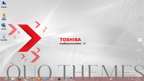 Toshiba Theme For Windows 7 And 8 Ouo Themes 500x281