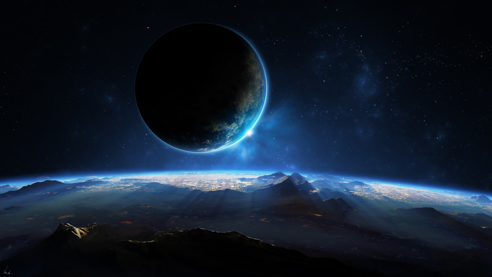 Distant Planet 3D Wallpapers HD Wallpapers 1920x1080