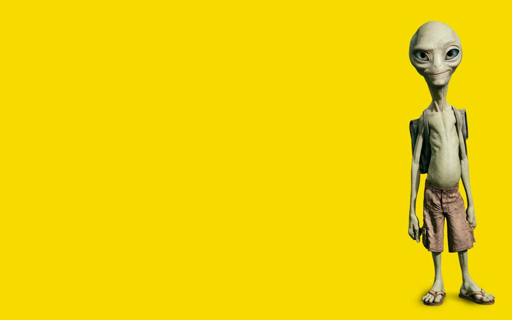 Movies yellow Paul Movie wallpaper 1680x1050 223227 1680x1050