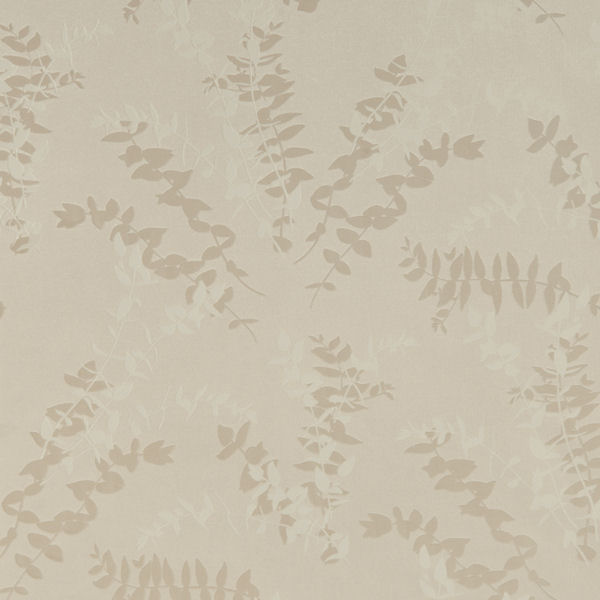 Cream and White Foliage Toss Wallpaper   Wall Sticker Outlet 600x600