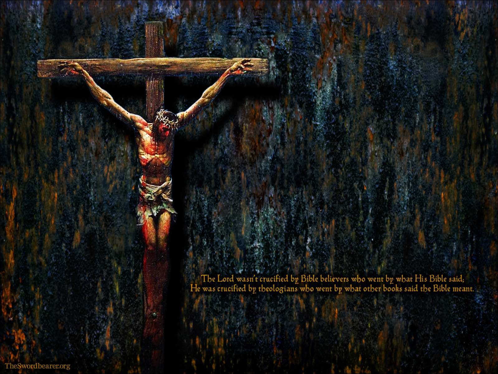 Wallpapers The crucifixion TheSwordbearer 1600x1200
