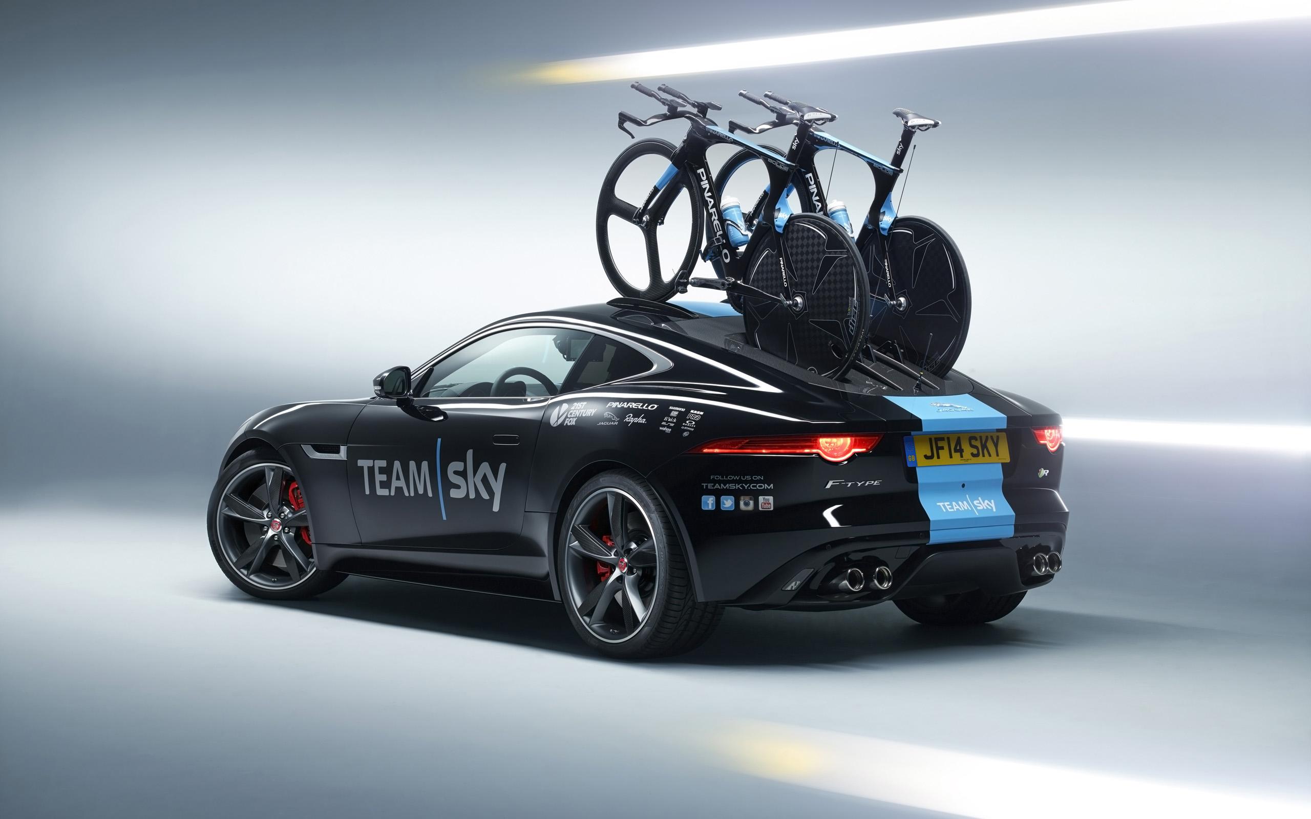 Jaguar F Type Coupe Tour de France 3 Wallpaper HD Car Wallpapers 2560x1600