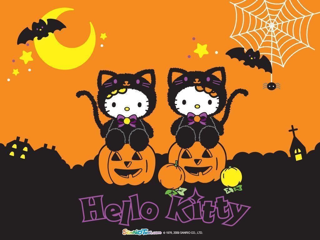Hello Kitty Halloween Wallpapers   Top Hello Kitty Halloween 1024x768