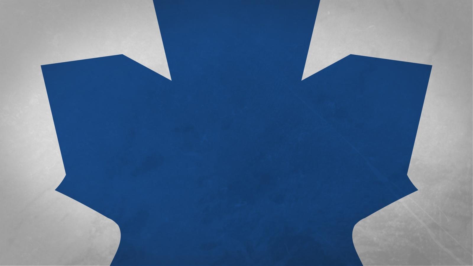 Hockey nhl logos simple toronto maple leafs wallpaper 76113 1600x900