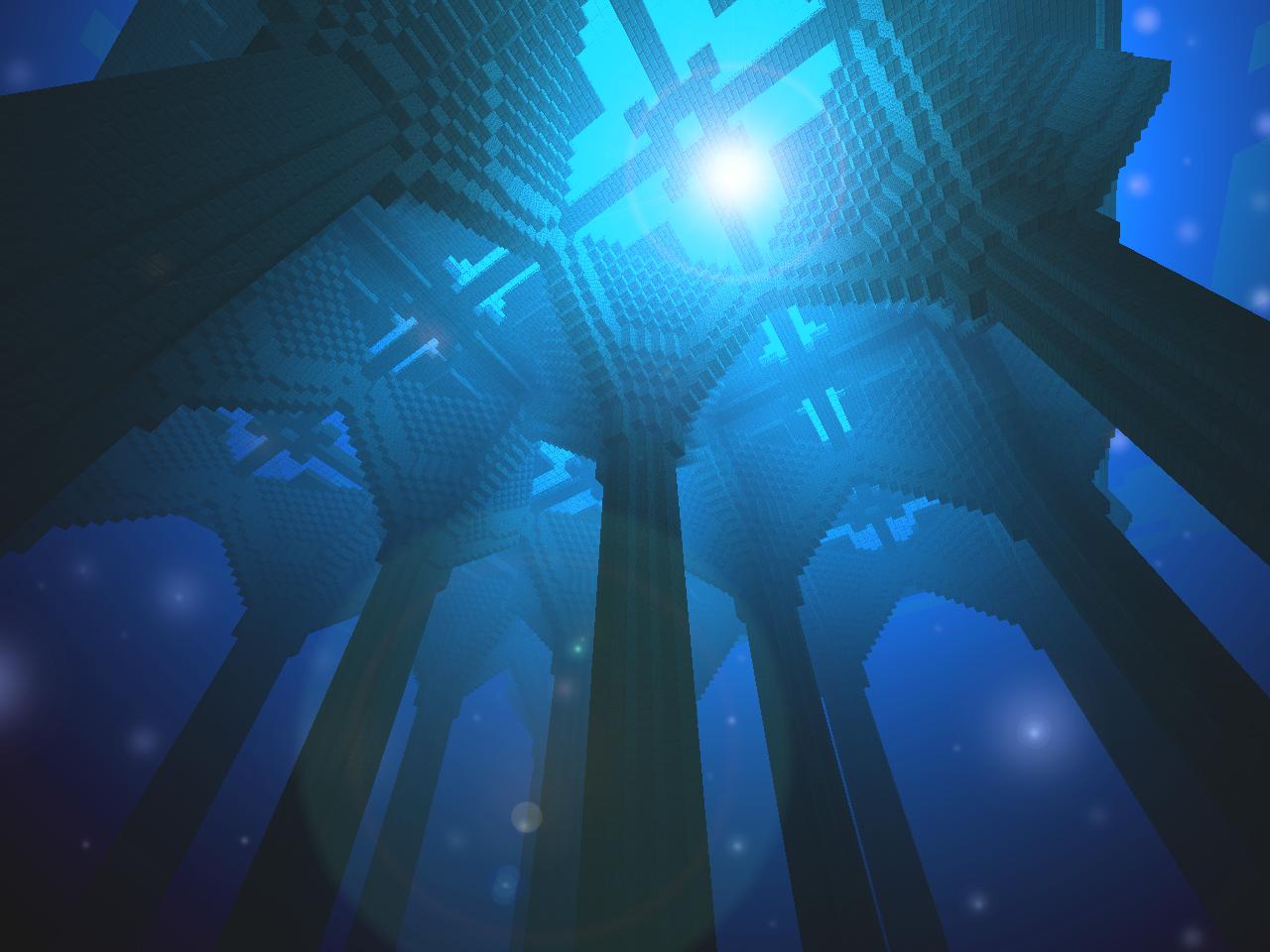 Deep Underwater Wallpaper HD Backgroun 1280x960