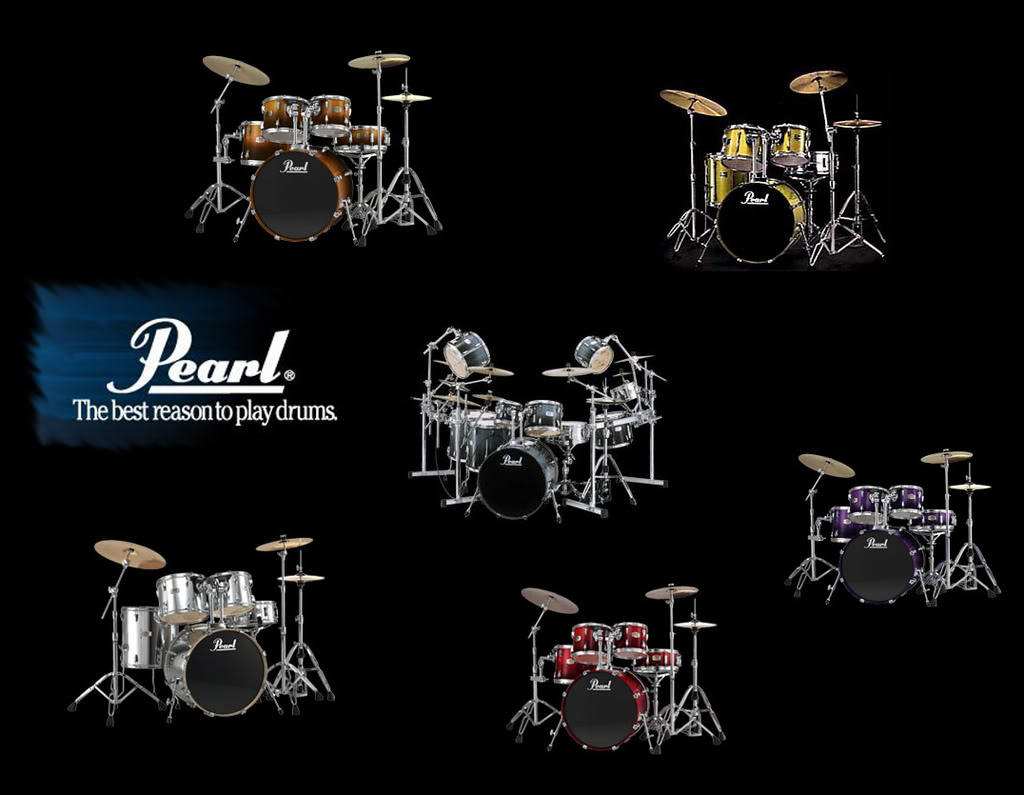Wallpaper Drum Wallpapers Pearl Drums Pic 24 1024x795