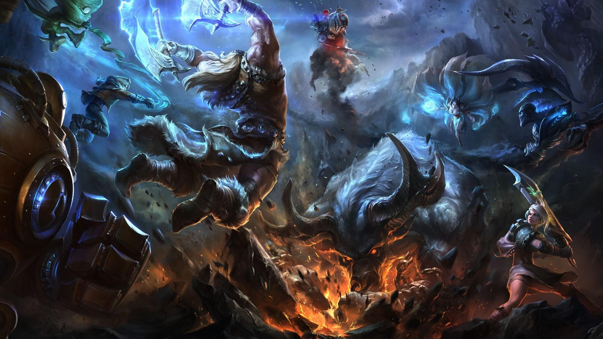 45 Hd League Of Legends Wallpapers On Wallpapersafari