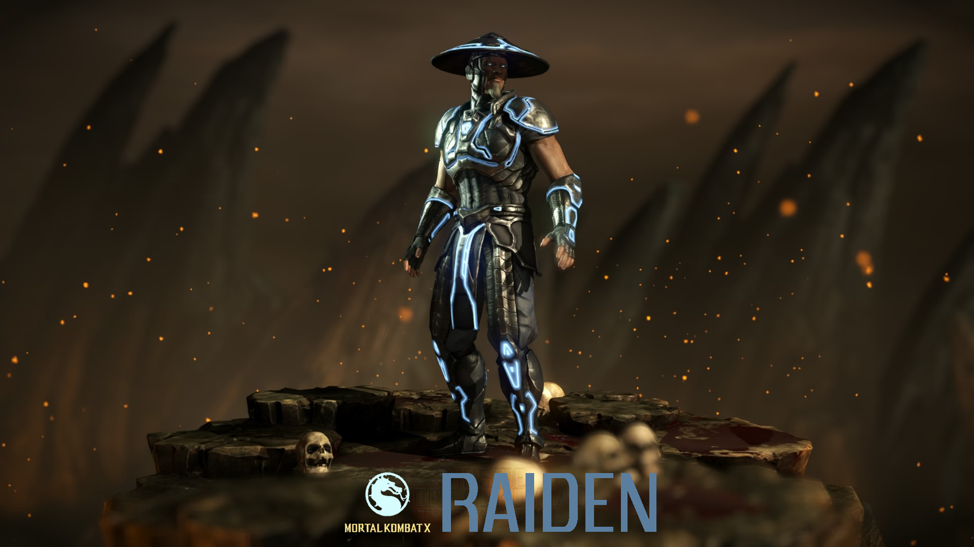 Free Download Mortal Kombat X Characters Raiden Wallpaper Hd