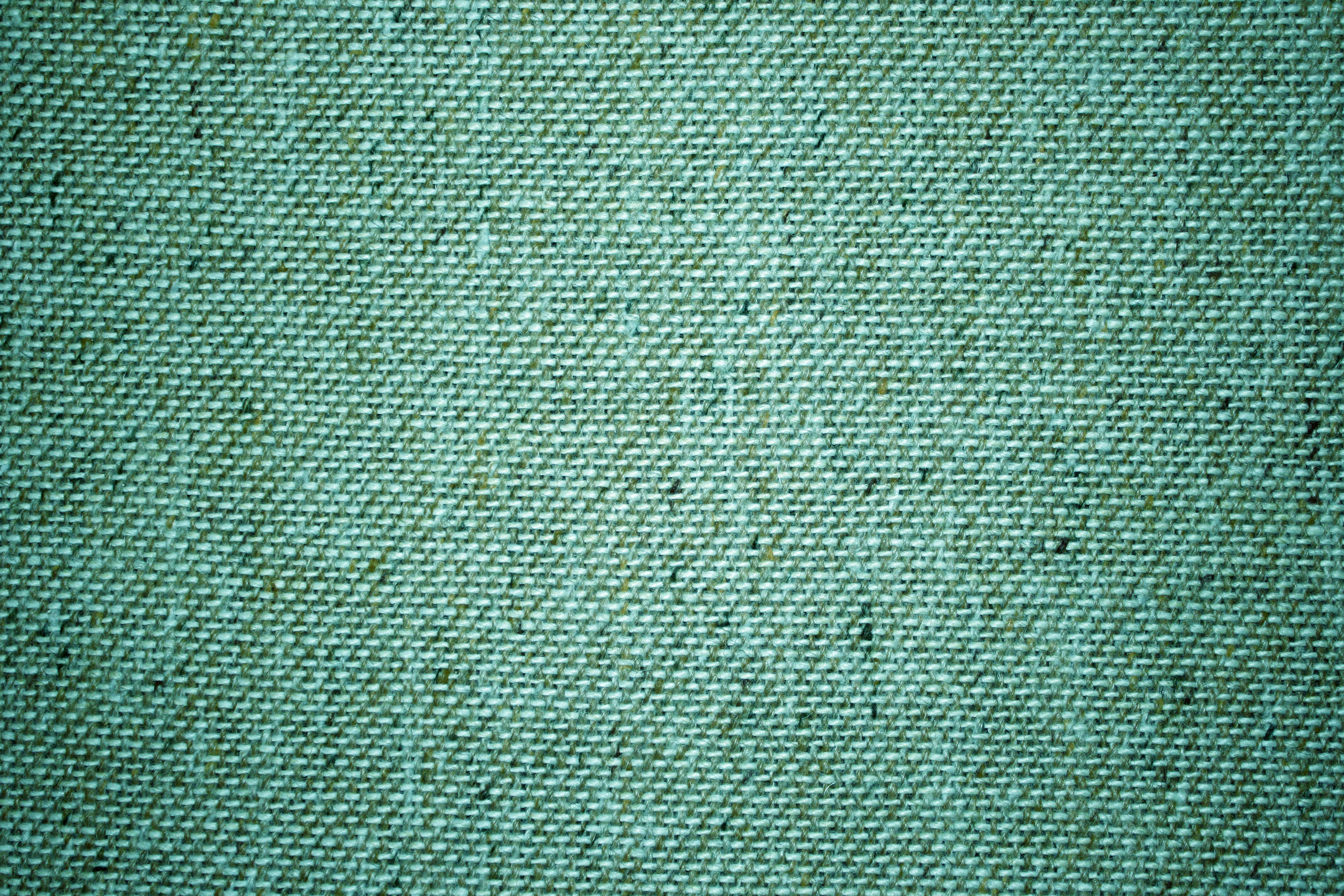 Teal Green Upholstery Fabric Close Up Texture   High Resolution 3888x2592