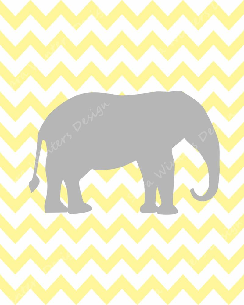 Yellow Grey Chevron Background Chevron elephant monogram and 800x1000