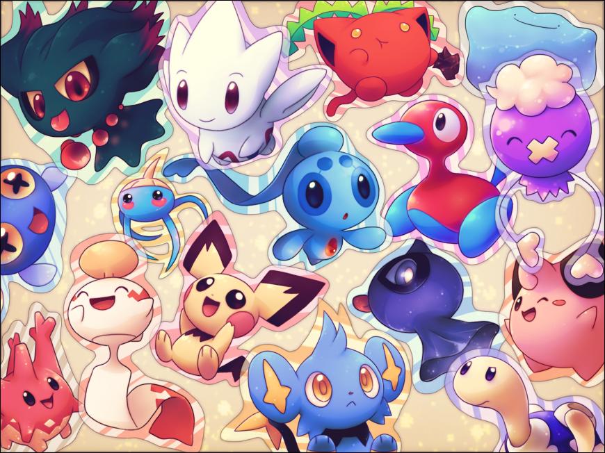Download Super Cute Pokemon Kawaii Wallpaper 870x652 Full HD 870x652