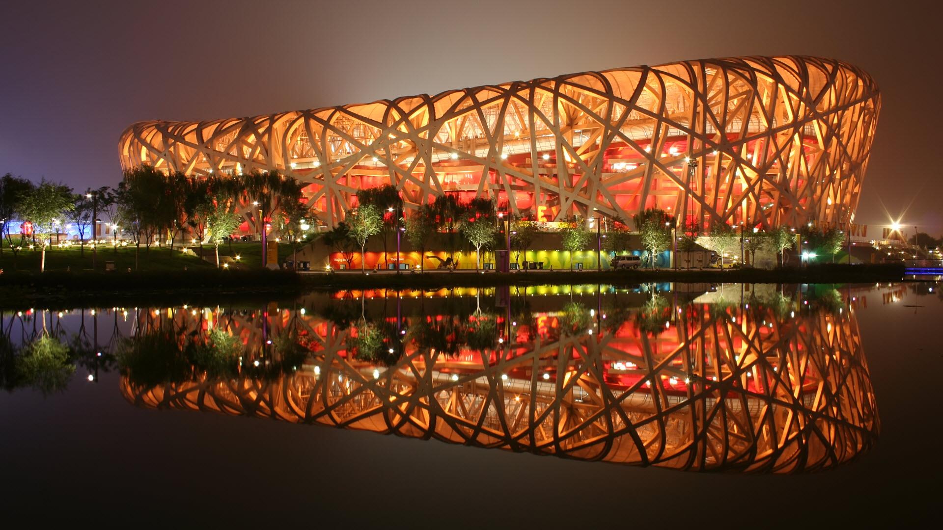 Birds Nest Stadium Beijing China Wallpapers HD Wallpapers 1920x1080