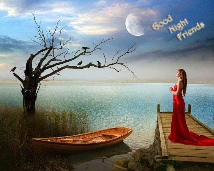 Beautiful Good Night Wallpapers - WallpaperSafari  Beautiful Good Night Images For Friends