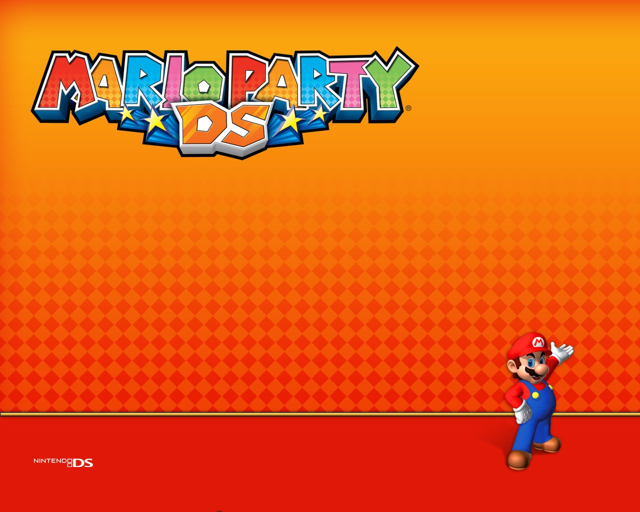 Mario Party DS Background   Mario litrato 37968271 1280x1024