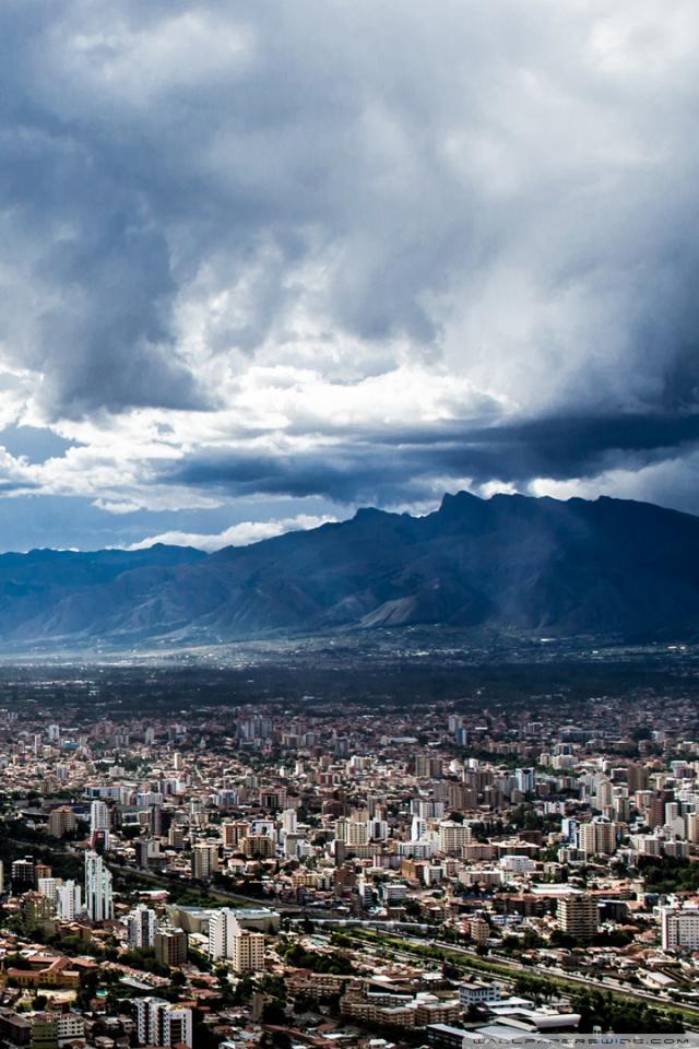 Ciudad de Cochabamba Bolivia HD 4K HD Desktop Wallpaper for 4K 640x960
