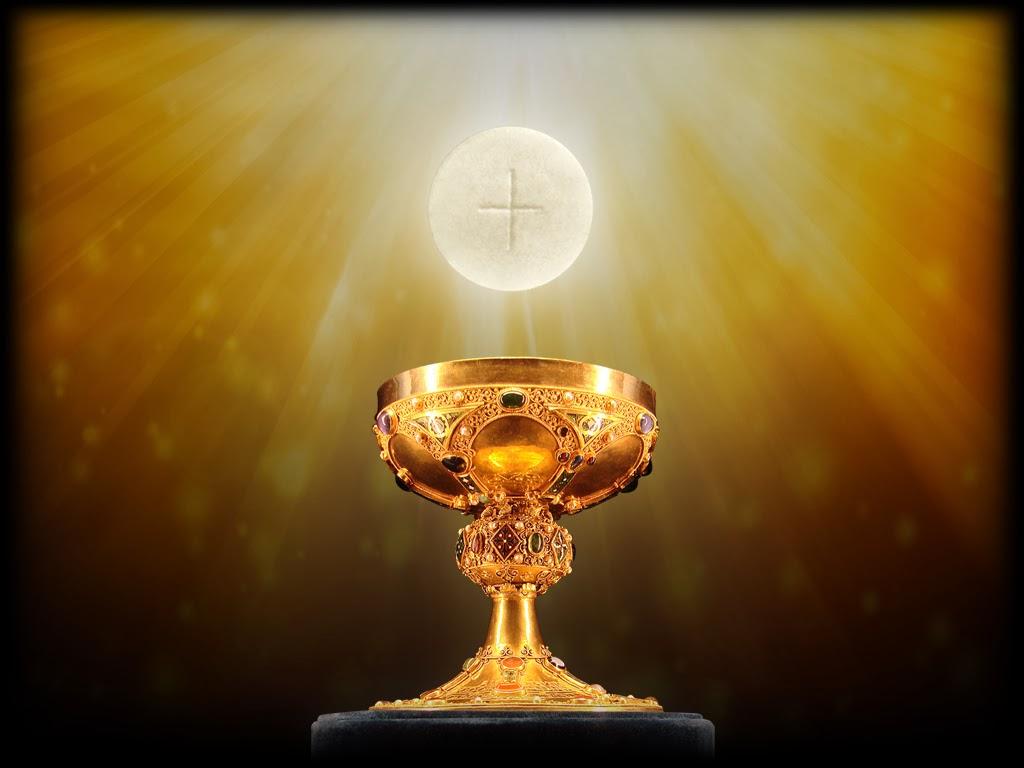 Catholic Wallpaper Eucharist Viewing Gallery 1024x768
