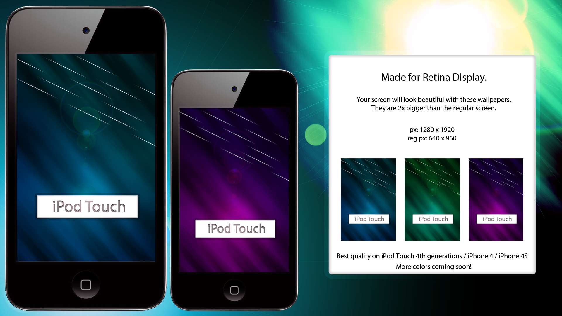 Retina Display Wallpaper Color Pack by LmaoWut 1920x1080