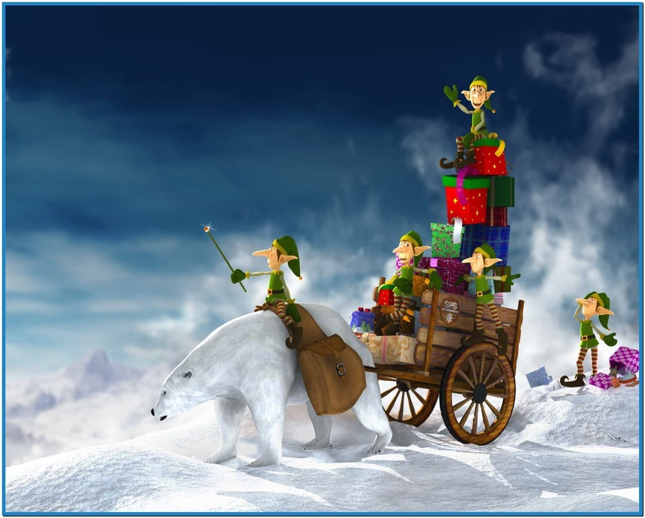 Christmas screensavers wallpaper 3d   Download 1303x1047