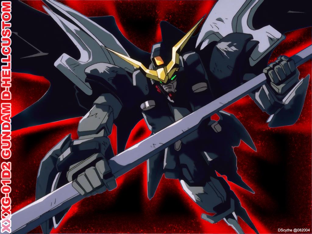 Mobile Suit Gundam Wing Wallpaper Burnin Up D HellCustom   Minitokyo 1024x768