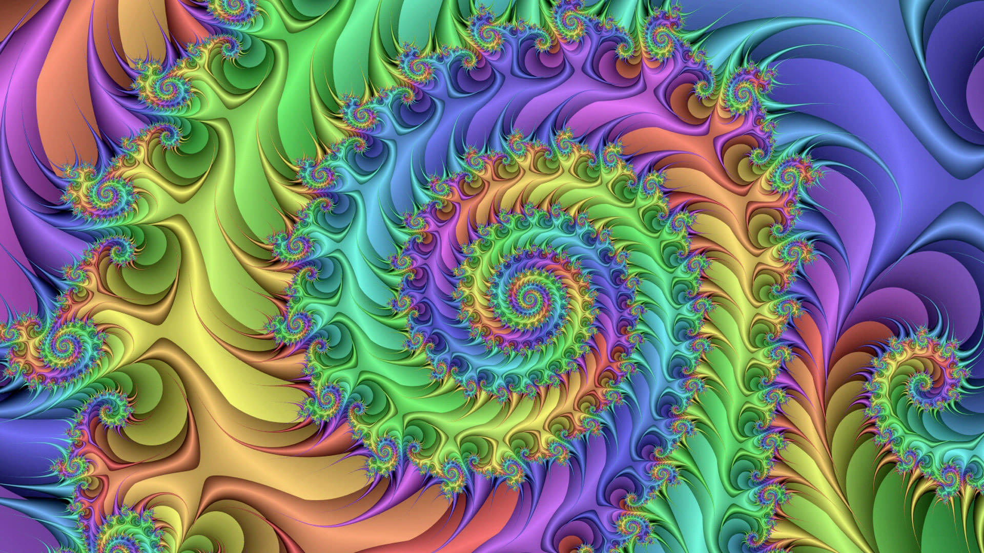 wallpapers wallpaper tripy trippy fractal 1920x1080