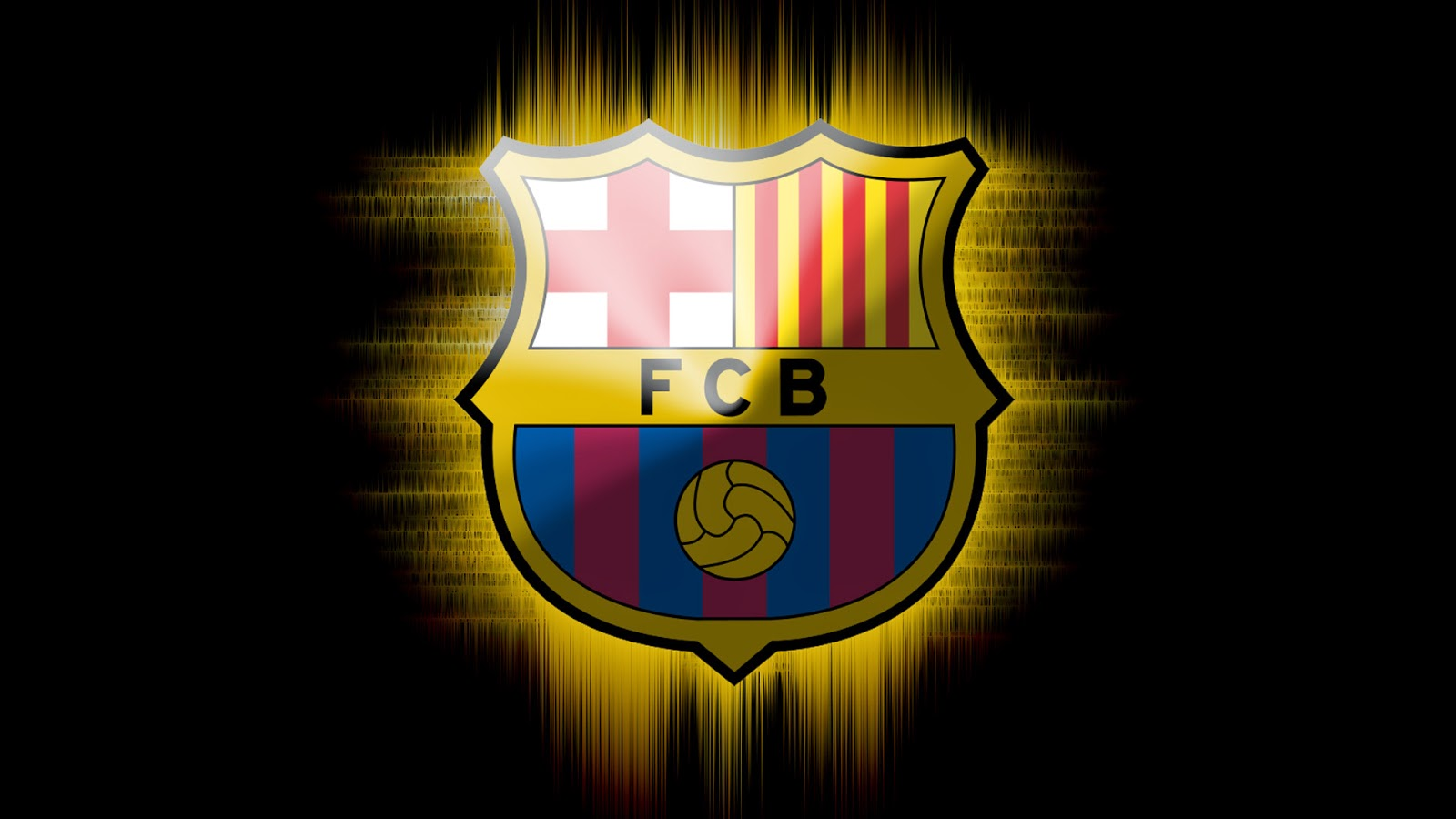 FC Barcelona Logo New HD Wallpaper 2014 World Fresh HD 1600x900