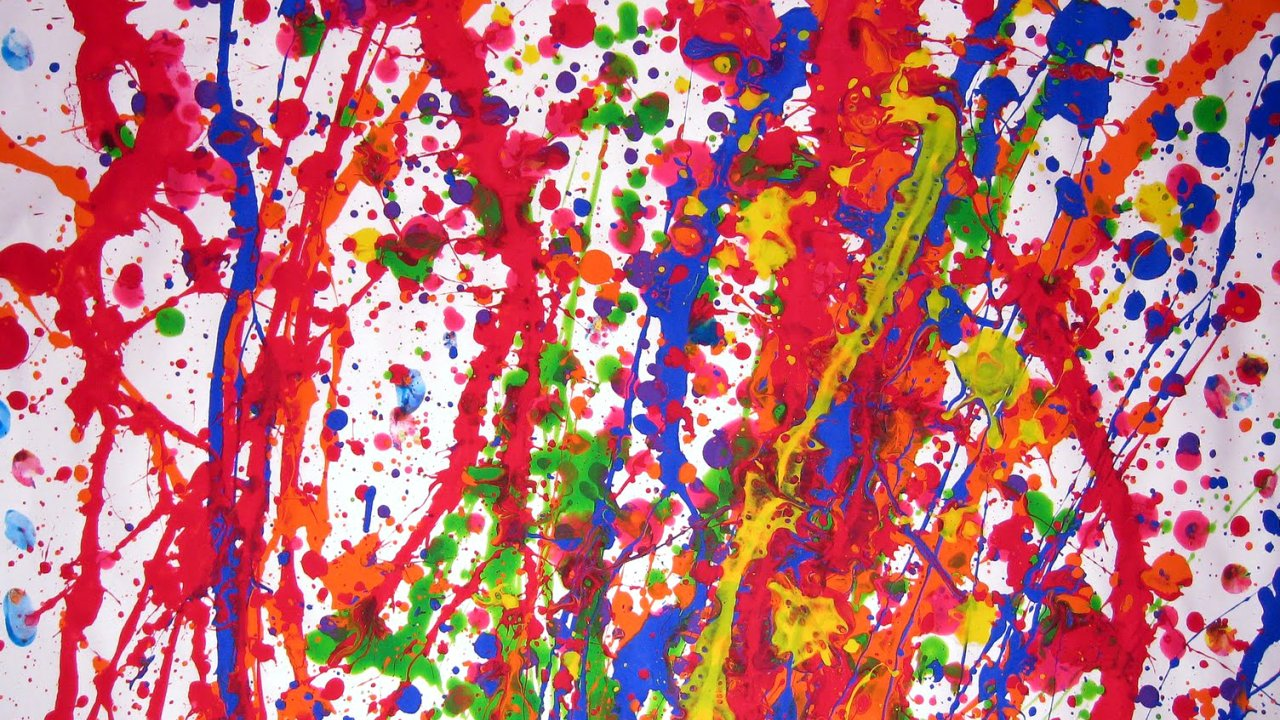 Jason Pollock Painting Amazing Absract Best Arts Ever 1280x720