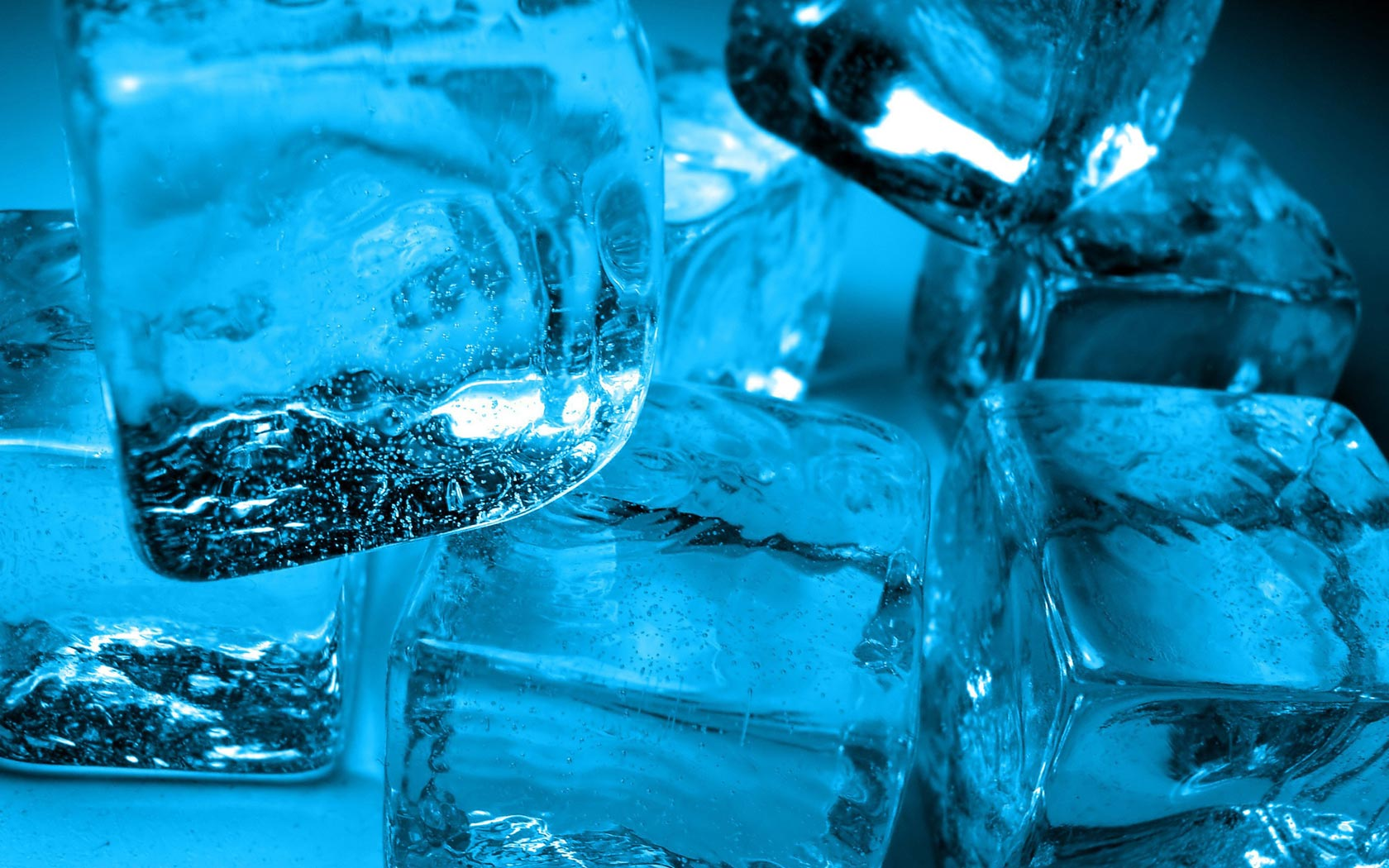 Blue Ice HD Wallpaper Welcome To StarChop 1680x1050
