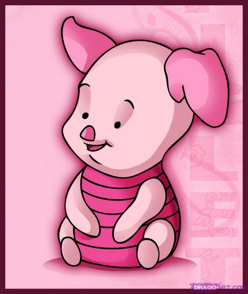 home cartoon baby baby piglet cartoon baby pictures baby piglet 863x1024