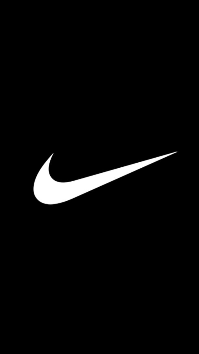 Nike Logo Iphone Wallpaper Basic nike logo wallpaper for 640x1136
