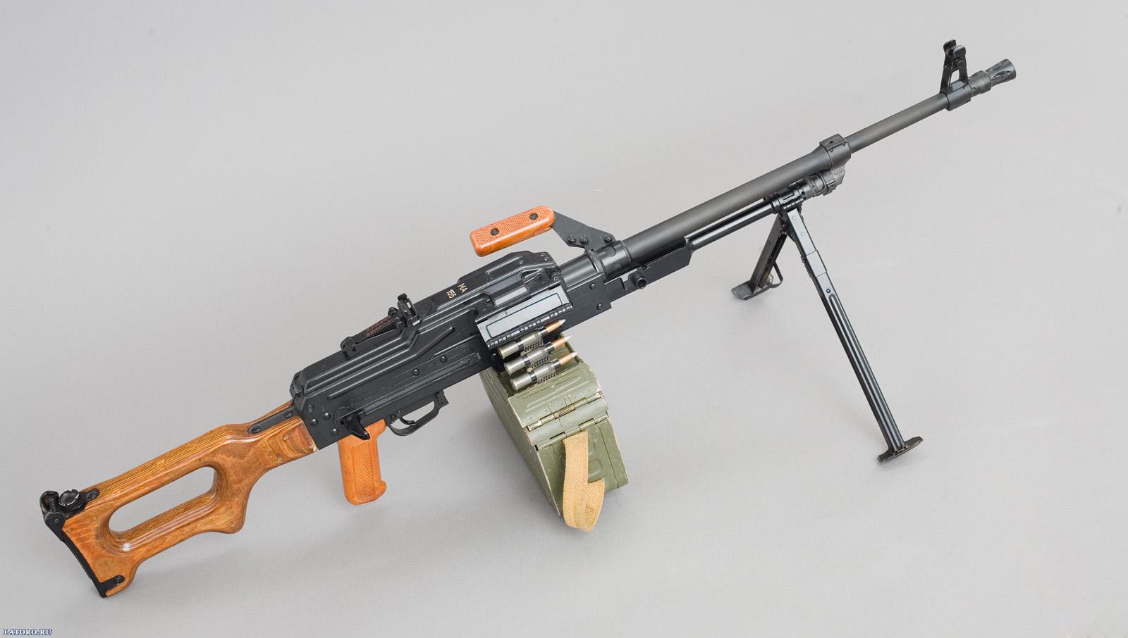 PKM Kalashnikov machine gun Desktop Wallpapers FREE on Latorocom 1600x906