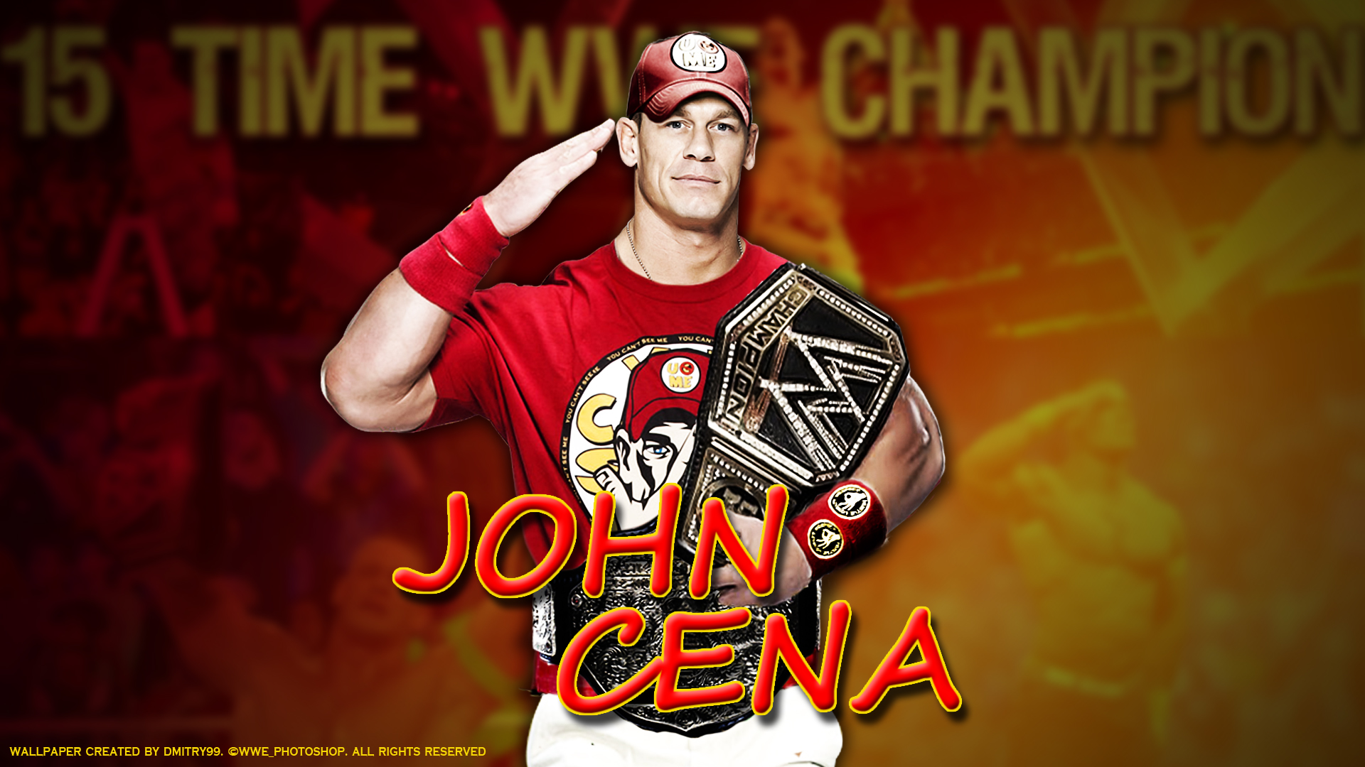 WWE John Cena Wallpapers 2015 HD 1920x1080