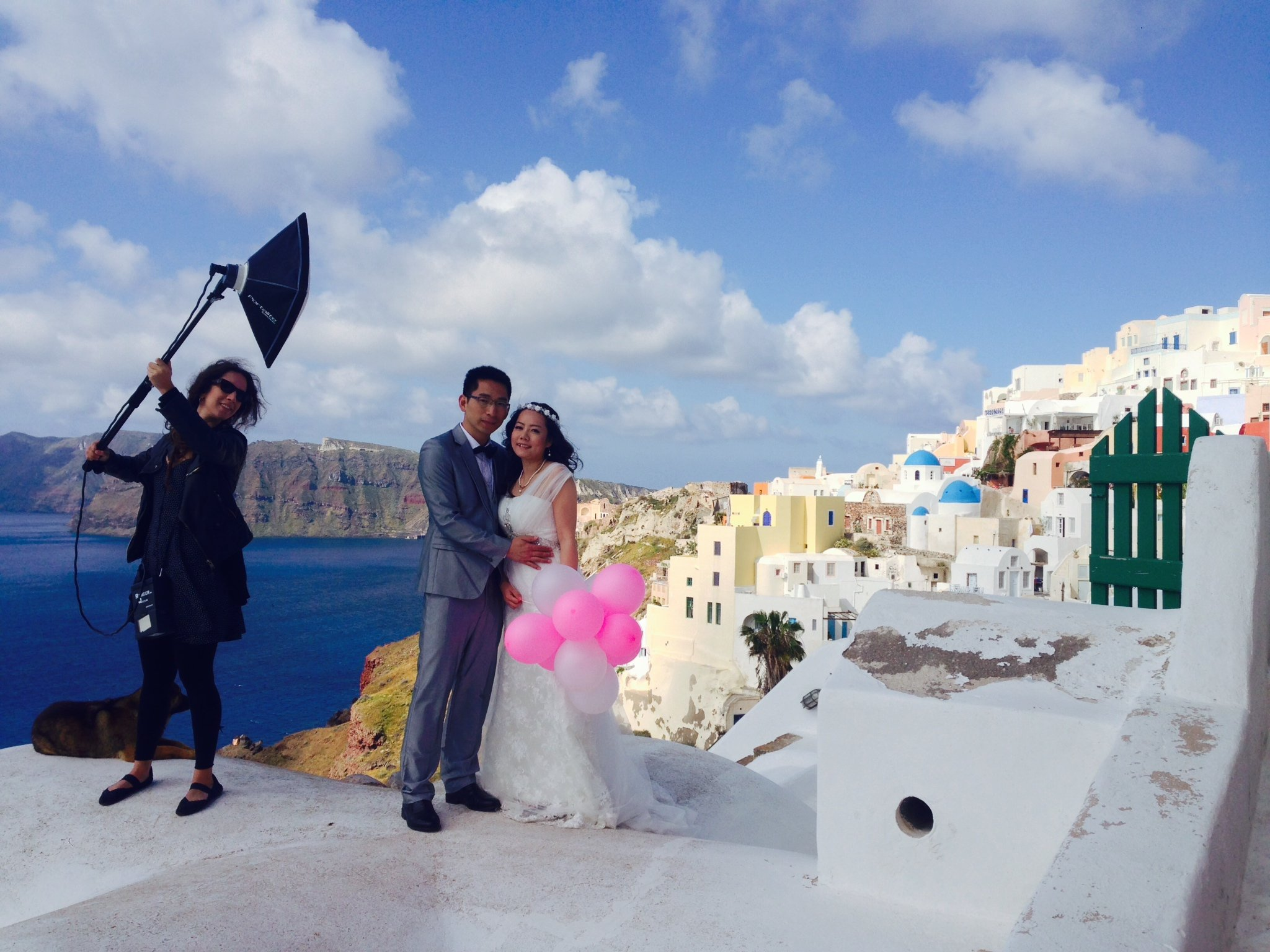 Wen and Kun Greece honeymoon and Santorini Wedding in Greece by 2048x1536