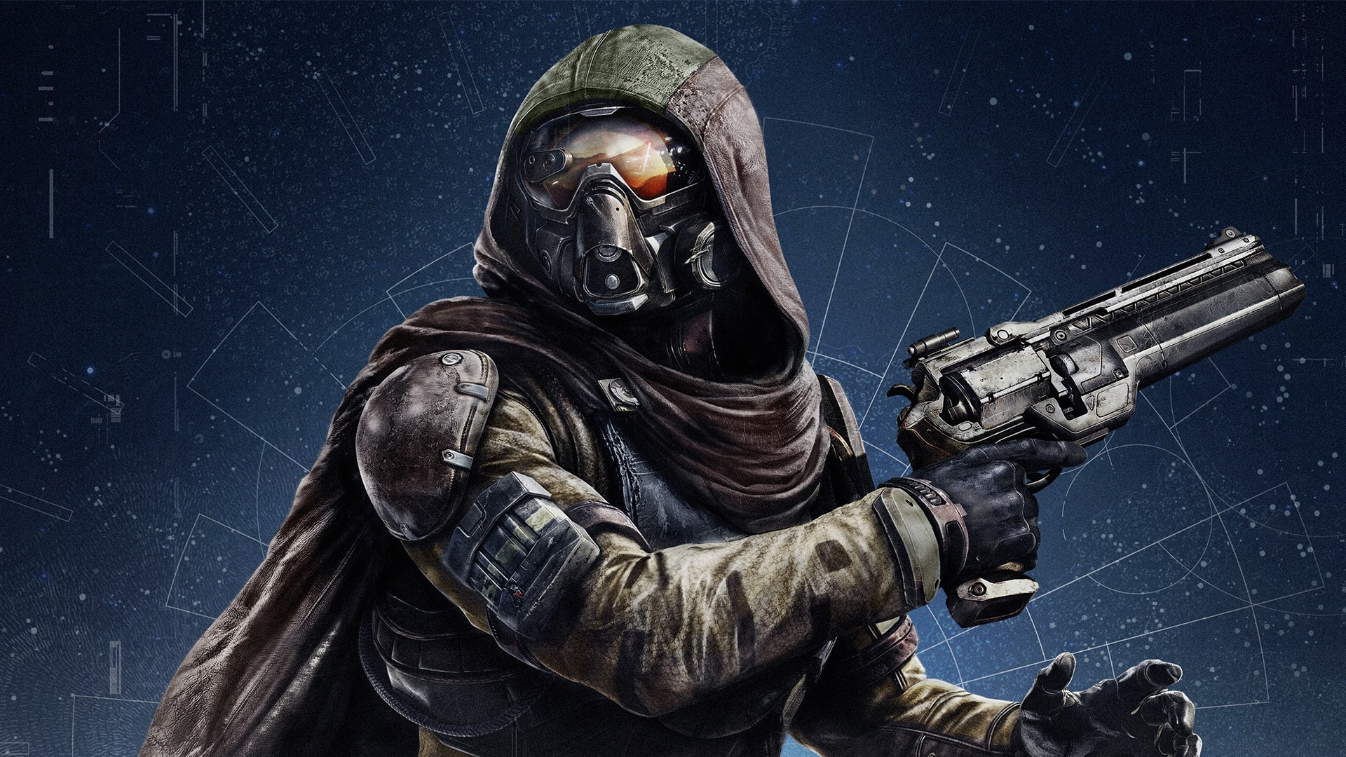 Destiny Video Game Characters Logo HD Wallpapers Download 1920x1080