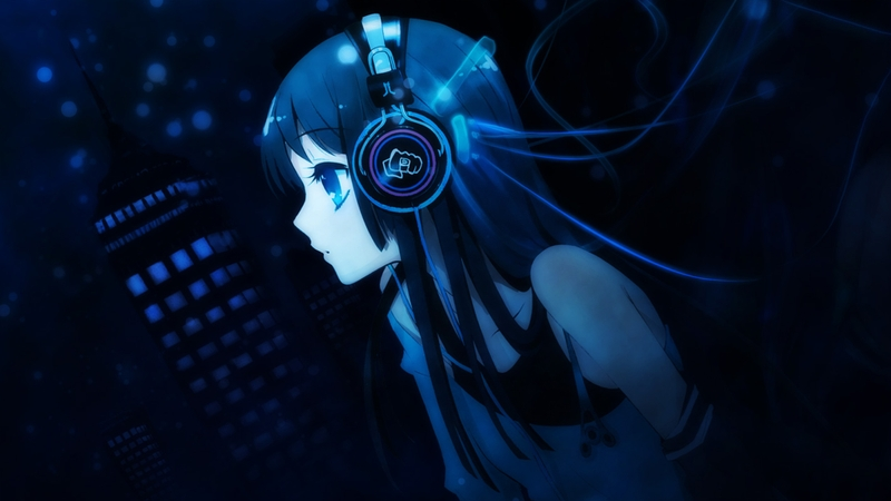 blue anime girls 1920x1080 wallpaper Blue Wallpaper Desktop 800x450