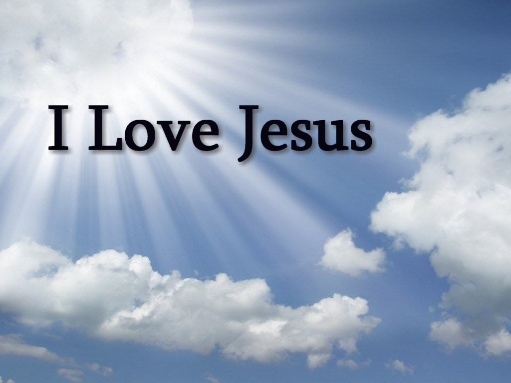 I Love Jesus Wallpapers 55 1024x768
