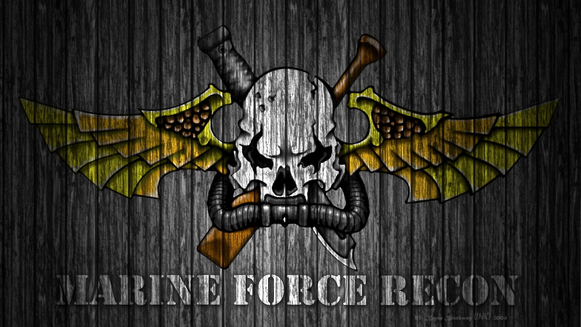 Marine Recon Wallpaper Marine force recon 1 by by 1192x670