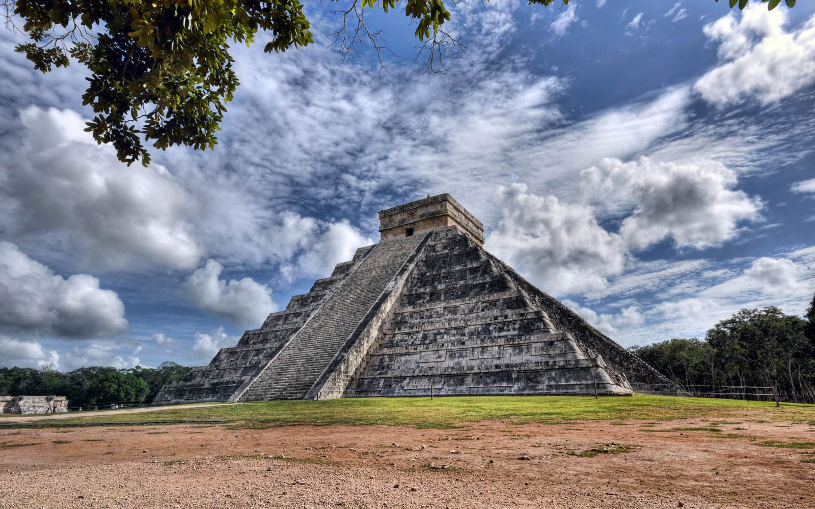 Mexico   El Castillo Wallpapers inthe category of Travels Wallpapers 1600x1000
