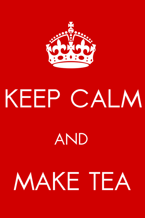 Keep Calm And Make Tea Desktop and mobile wallpaper Wallippo 600x900