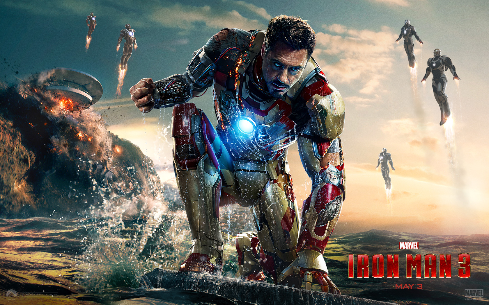 Iron Man 3 Movie Wallpapers HD Wallpapers 1680x1050