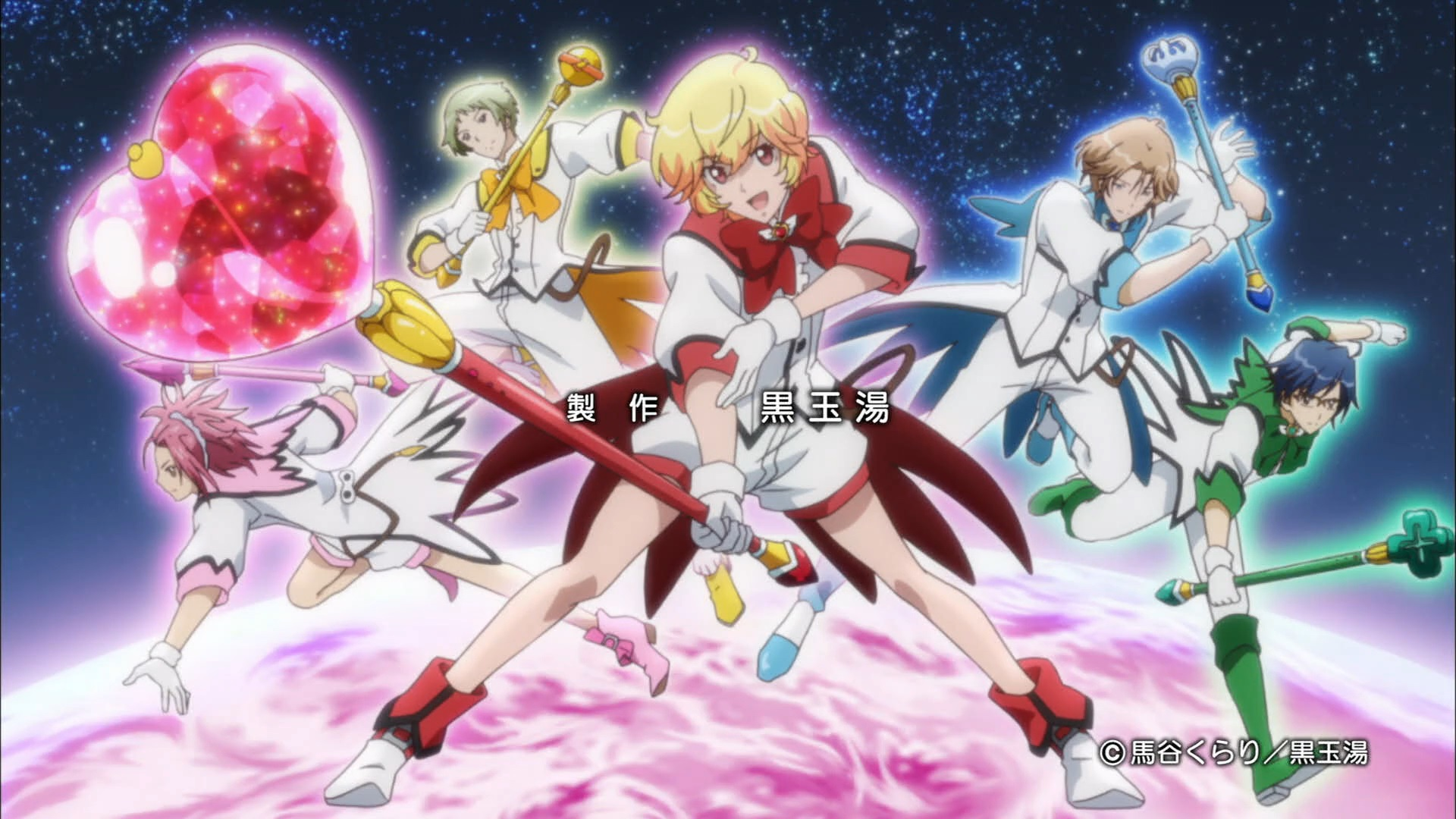 Cute High Earth Defence Club LOVE   First Impressions Moar Powah 1920x1080
